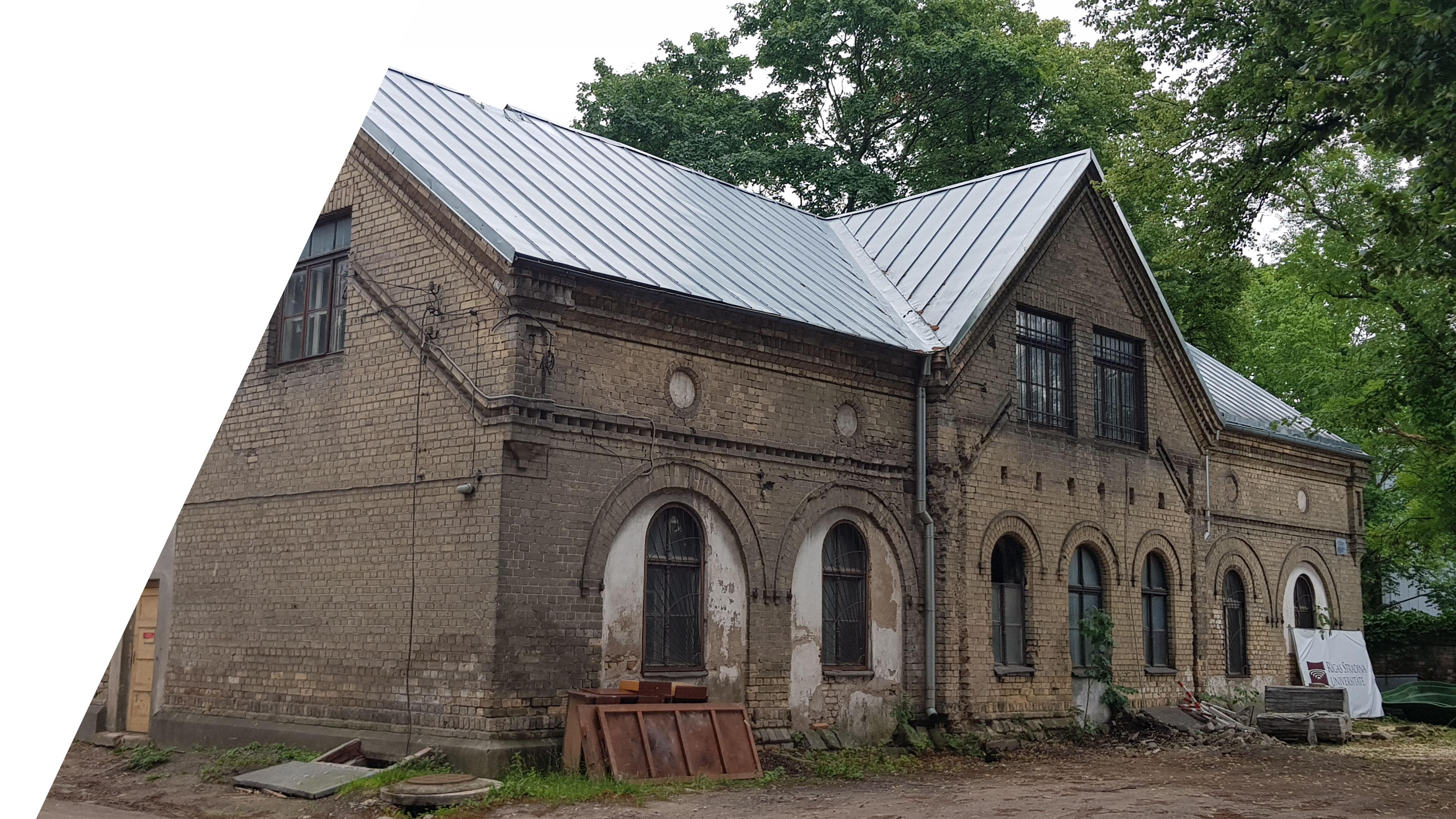 Rīgas Stradiņa universitātes vēsturiskā staļļa pārbūve par muzeja ēku