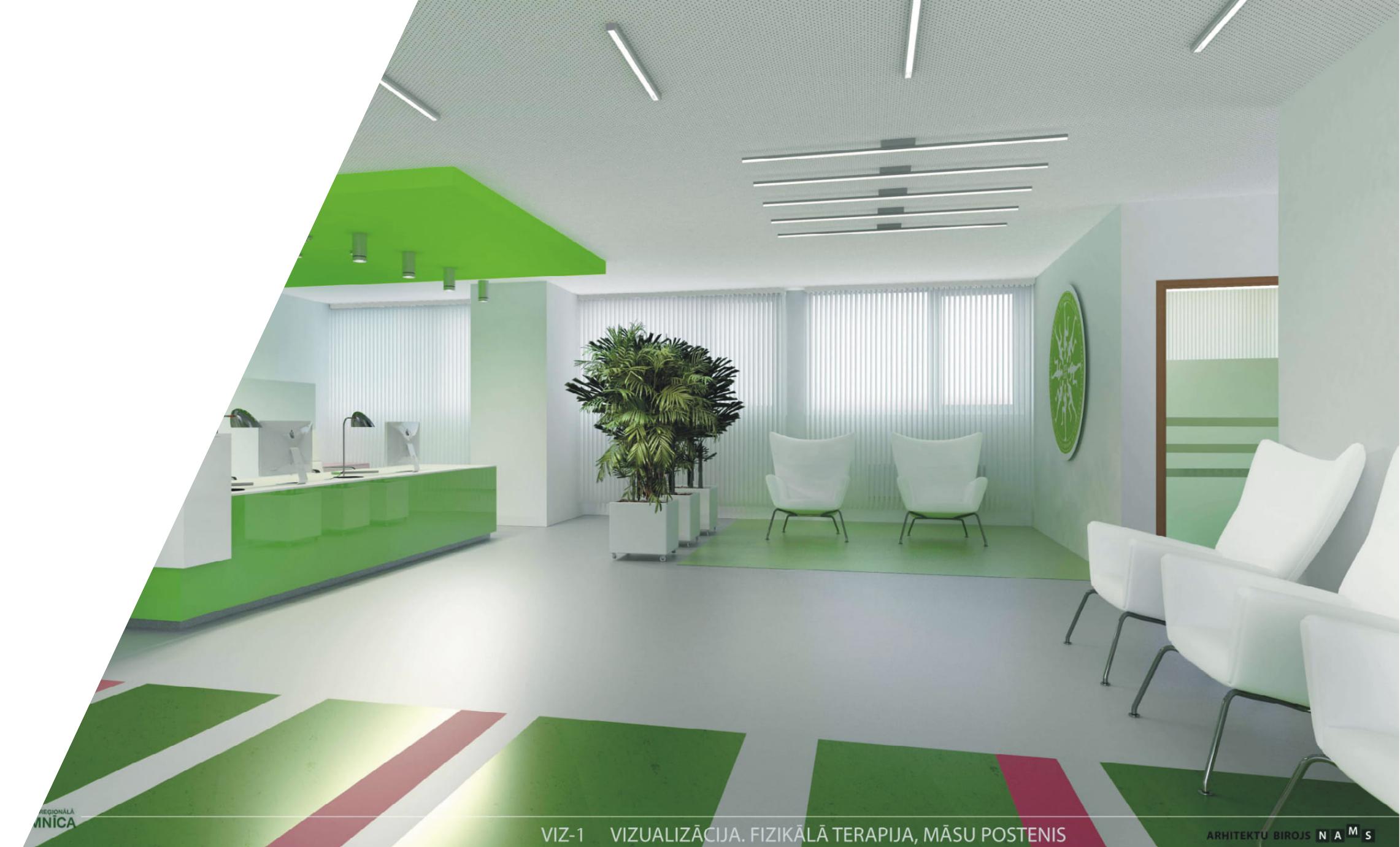 Liepājas reģionālās slimnīcas ēku pārbūve, teritorijas labiekārtojums un vienkāršotā atjaunošana