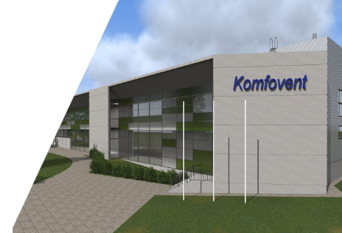 NEW WAREHOUSE BUILDING WITH PRODUCTION PREMISES AND OFFICE PREMISES AND DEMOLITION OF THE EXISTING BUILDING